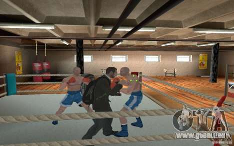 The combat system from GTA IV für GTA San Andreas her Screenshot