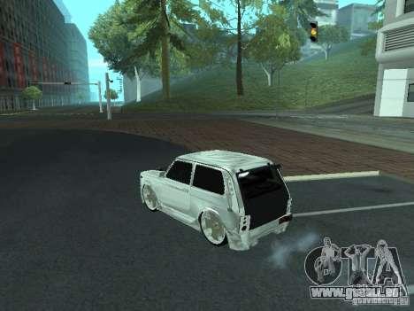 VAZ 2121 Final pour GTA San Andreas laissé vue