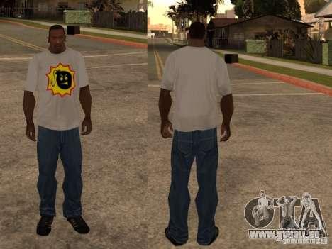 Nouveau t-shirt pour GTA San Andreas