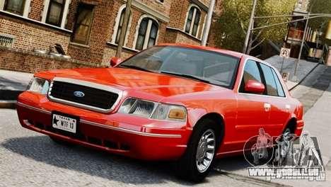 Ford Crown Victoria Civil 2006 pour GTA 4
