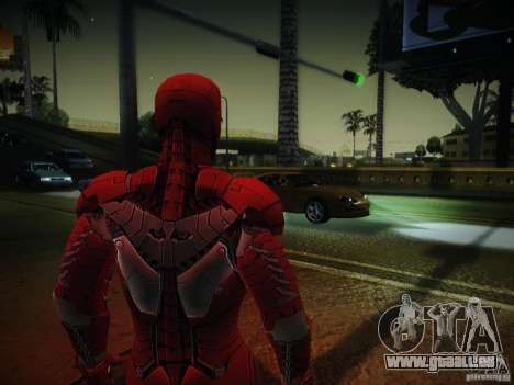 Iron Man 3 Mark V für GTA San Andreas zweiten Screenshot