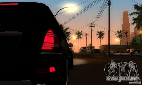Mercedes-Benz GL 500 für GTA San Andreas Rückansicht
