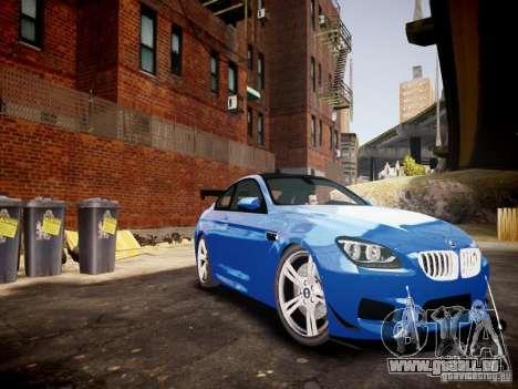 BMW M6 2013 für GTA 4 Innenansicht