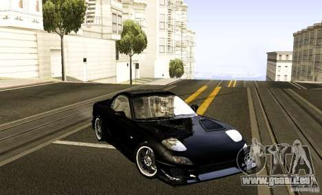 Mazda RX-7 C-West pour GTA San Andreas vue de droite