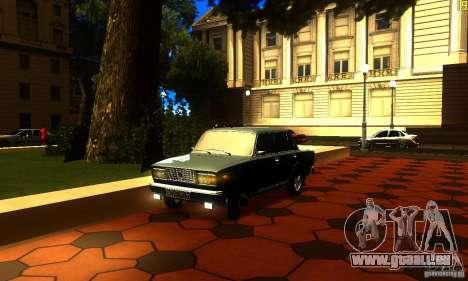 VAZ 2107 v2. 0 für GTA San Andreas
