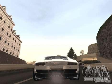 Lamborghini Miura LP670 pour GTA San Andreas sur la vue arrière gauche