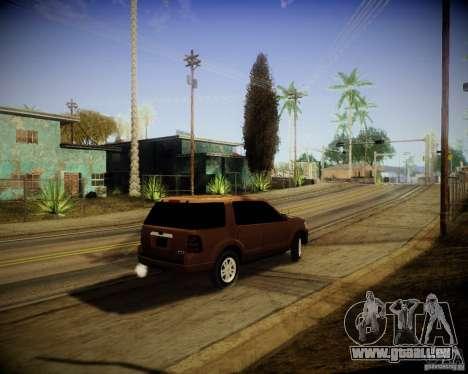 Ford Explorer pour GTA San Andreas vue de droite