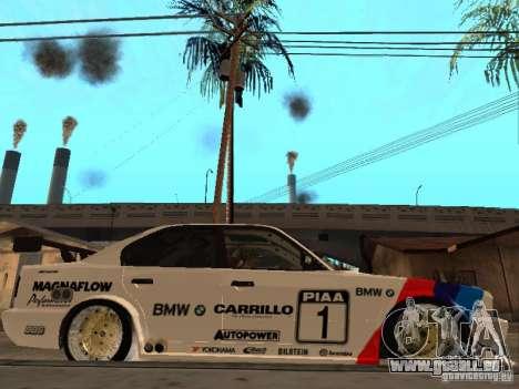 BMW E34 M5 - DTM pour GTA San Andreas vue de droite