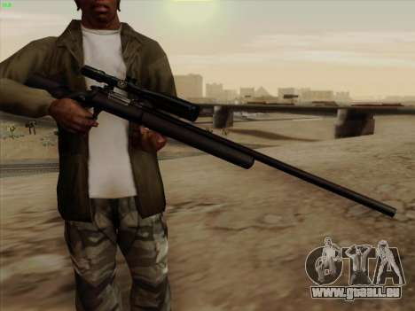 Remington 700 für GTA San Andreas zweiten Screenshot