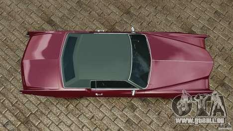 Cadillac Eldorado 1968 pour GTA 4 est un droit