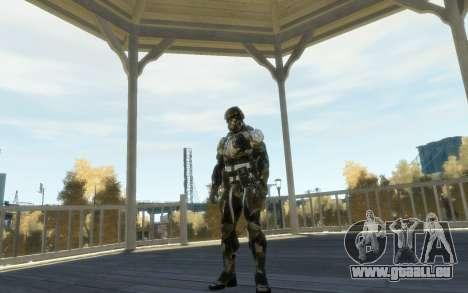 Crysis 3 The Hunter skin für GTA 4 weiter Screenshot