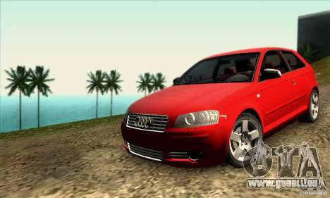 Audi A3 Tunable für GTA San Andreas