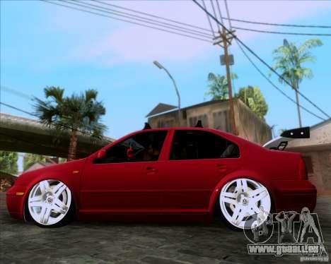 Volkswagen Jetta 2005 pour GTA San Andreas laissé vue