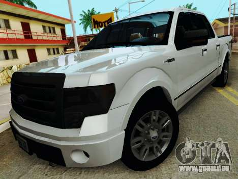 Ford F150 Platinum Edition 2013 pour GTA San Andreas