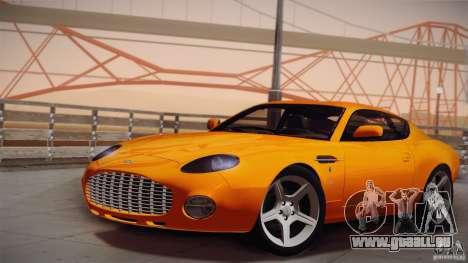 Aston Martin DB7 Zagato 2003 für GTA San Andreas Seitenansicht
