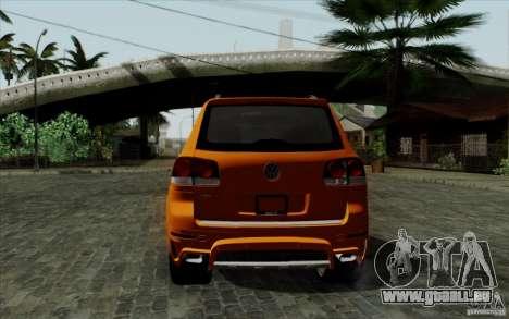 Volkswagen Touareg R50 Light für GTA San Andreas rechten Ansicht