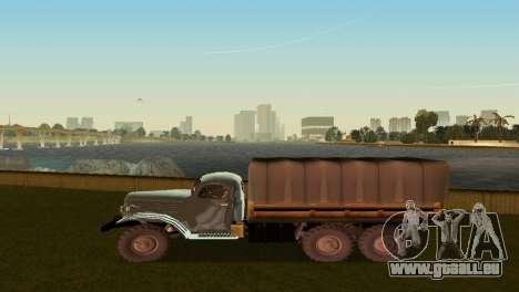ZIL-157 pour une vue GTA Vice City de la droite