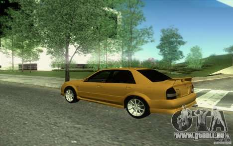 Mazda Speed Familia 2001 V1.0 pour GTA San Andreas vue intérieure