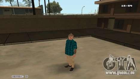Skins Rifa zu bauen für GTA San Andreas dritten Screenshot