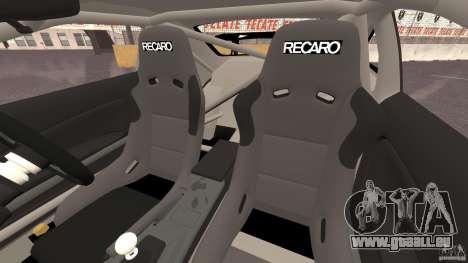 Nissan Silvia S15 D1GP TOP SECRET pour GTA 4 est une vue de l'intérieur