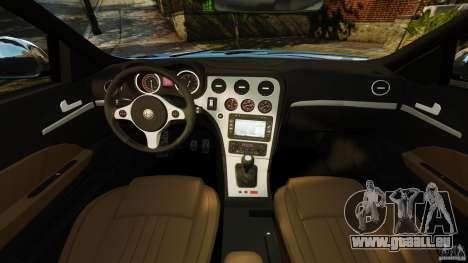 Alfa Romeo 159 TI V6 JTS für GTA 4 Rückansicht
