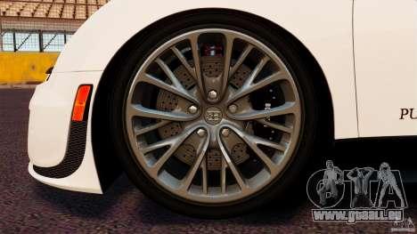 Bugatti Veyron 16.4 Super Sport 2011 [EPM] pour GTA 4 est un côté
