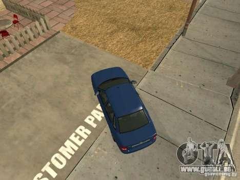 LADA 2170 Drain pour GTA San Andreas vue de droite