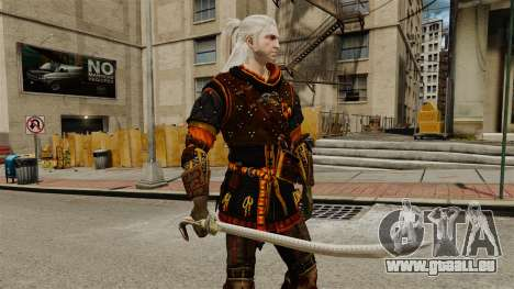 Épée de la v2 de The Witcher pour GTA 4