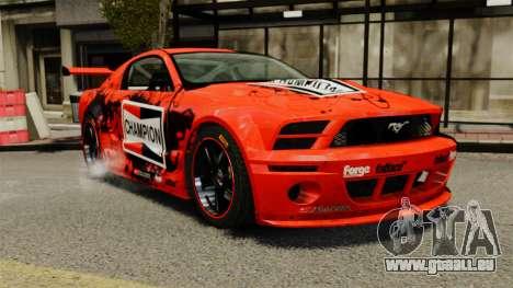 Ford Mustang GTR pour GTA 4