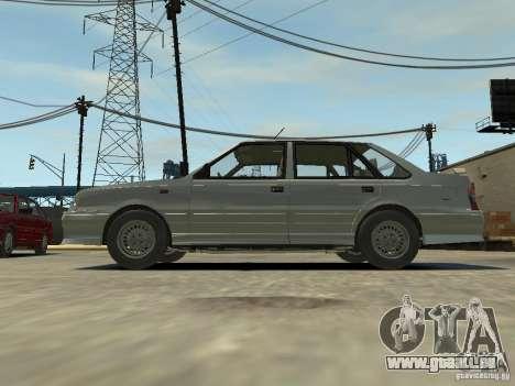 FSO Polonez Atu pour GTA 4 Vue arrière