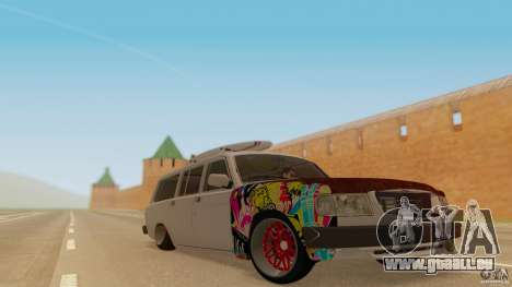 GAZ-310221 601 pour GTA San Andreas