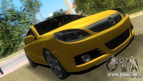 Opel Vectra pour GTA Vice City sur la vue arrière gauche