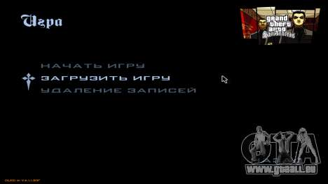 Neues Menü aus CatVitalio für GTA San Andreas dritten Screenshot