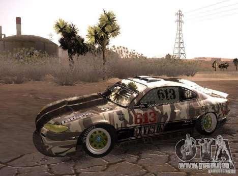 Nissan Silvia S15 Volklinger für GTA San Andreas zurück linke Ansicht