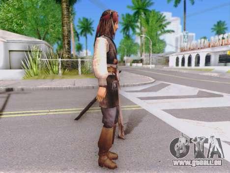 Jack Sparrow für GTA San Andreas zweiten Screenshot