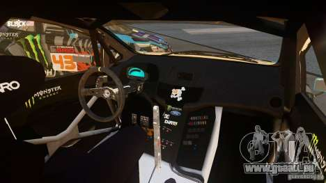 Ford Fiesta Gymkhana - Ken Block (Hoonigan) 2013 für GTA 4 linke Ansicht