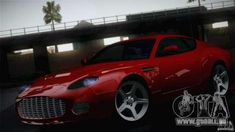 Aston Martin DB7 Zagato 2003 pour GTA San Andreas vue arrière
