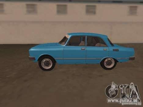 Moskvich 2140 SL pour GTA San Andreas laissé vue
