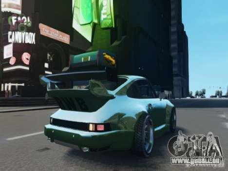 Porsche 911 Turbo RWB Pandora One Beta für GTA 4 Rückansicht