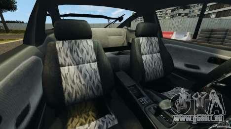 Nissan 240SX Kawabata Drift für GTA 4 Innenansicht