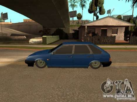 VAZ 2109 pour GTA San Andreas vue de droite