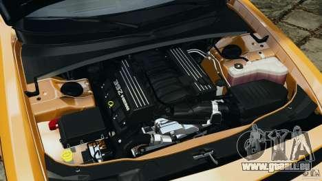 Dodge Challenger SRT8 392 2012 [EPM] pour GTA 4 vue de dessus