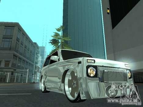 VAZ 2121 Final pour GTA San Andreas sur la vue arrière gauche