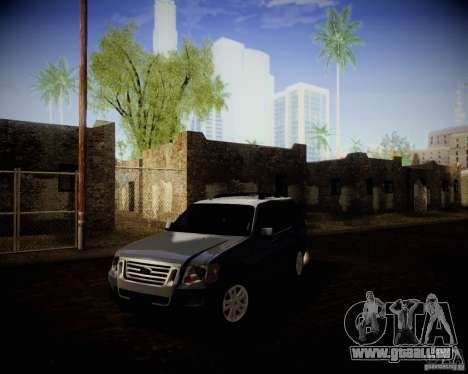 Ford Explorer für GTA San Andreas Rückansicht