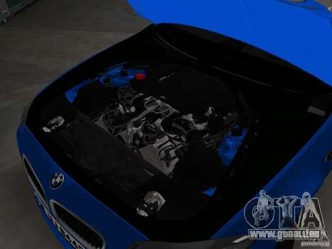 BMW M5 F10 2012 pour GTA Vice City vue de dessous