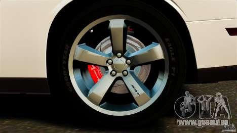Dodge Challenger SRT8 392 2012 ACR [EPM] pour GTA 4 est une vue de dessous