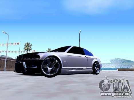 BMW 318i E46 Drift Style pour GTA San Andreas sur la vue arrière gauche