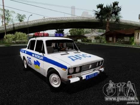 VAZ 2106 Police pour GTA San Andreas