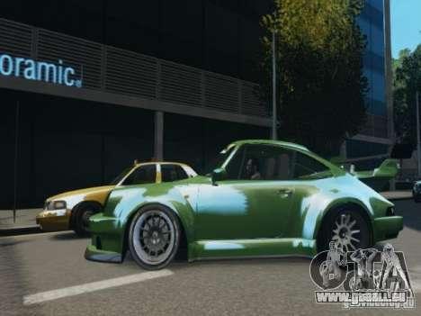 Porsche 911 Turbo RWB Pandora One Beta für GTA 4 linke Ansicht