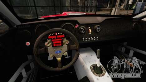 Ford Mustang GTR für GTA 4 Rückansicht
